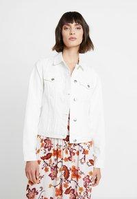 Dorothy Perkins - JACKET - Denim jacket - ecru - 0