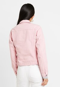 Dorothy Perkins - JACKET - Džínová bunda - pink - 2