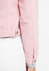 Dorothy Perkins - JACKET - Džínová bunda - pink - 5