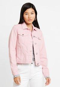 Dorothy Perkins - JACKET - Džínová bunda - pink - 0