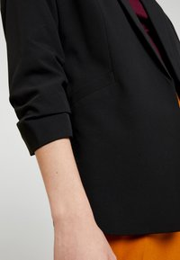 Dorothy Perkins - RUCHED SLEEVE JACKET - Blazer - black