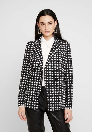 MONO CHECK JACKET - Lehká bunda - black