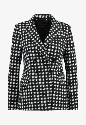 MONO CHECK JACKET - Veste mi-saison - black