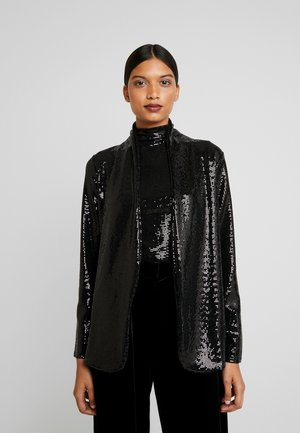 SEQUIN - Manteau court - black
