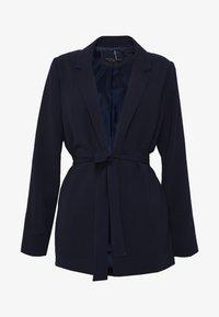 Dorothy Perkins - BELTED D RING JACKET - Blazer - navy blue - 4