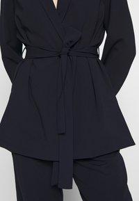 Dorothy Perkins - BELTED D RING JACKET - Blazer - navy blue - 5