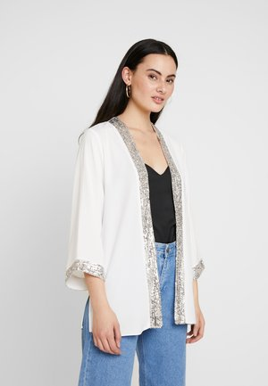IVY COVER UP - Blazer - ivory