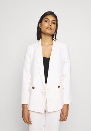 SINGLE TIER DOUBLE BREASTED - Blazer - ivory