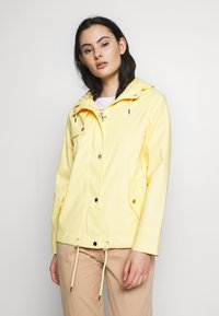 Dorothy Perkins - SHORT RAINCOAT - Impermeabile - ochre - 0