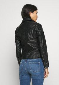 Dorothy Perkins - BIKER JACKET - Faux leather jacket - black - 2