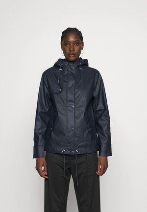 SHORT RAINCOAT - Impermeabile - navy