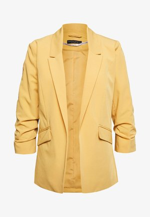EDGE TO EDGE JACKET - Blazer - ochre