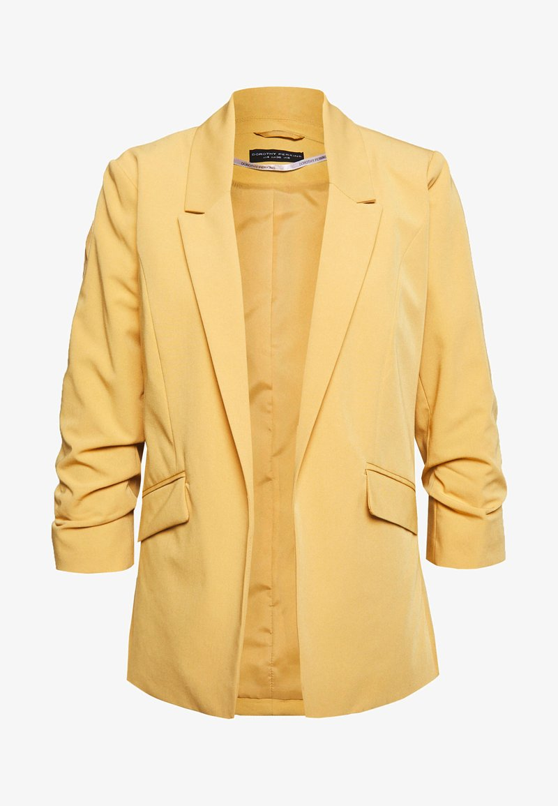 Dorothy Perkins - EDGE TO EDGE JACKET - Blazer - ochre