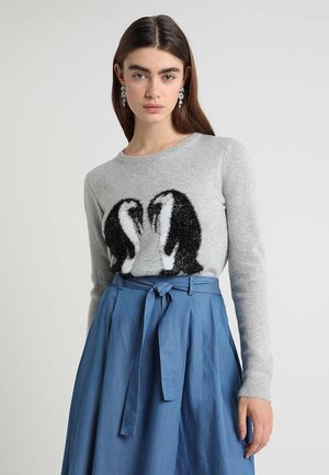 CHRISTMAS  PENGUIN - Maglione - grey
