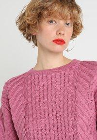 Dorothy Perkins - CUTE CABLE JUMPER - Jumper - pink - 3