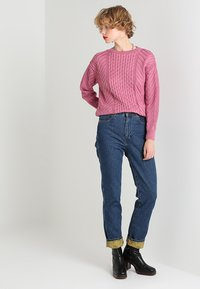Dorothy Perkins - CUTE CABLE JUMPER - Jumper - pink - 1