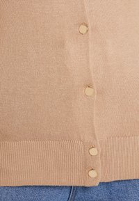Dorothy Perkins - BUTTON CORE CARDI - Vest - camel - 5