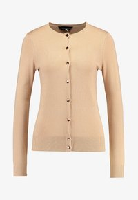 Dorothy Perkins - BUTTON CORE CARDI - Vest - camel - 4