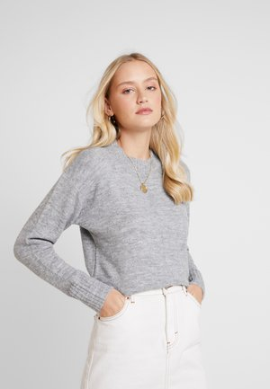 HEM JUMPER - Svetr - light grey