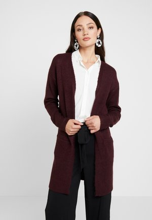LONGLINE EDGE TO EDGE CARDI - Cardigan - port
