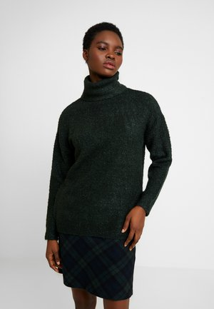 ROLL NECK - Trui - dark green