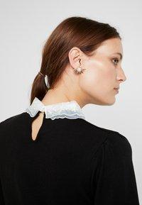 Dorothy Perkins - COLLAR - Sweter - black - 3