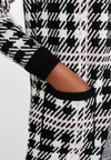 Dorothy Perkins - CHECK CARDI - Strickjacke - black