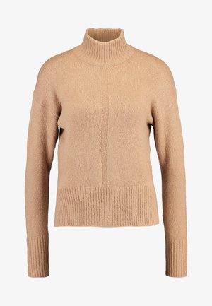 LEAD IN HIGH NECK - Jumper - camel