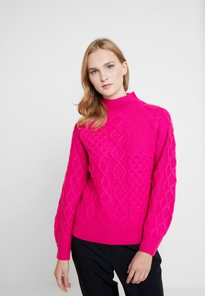 CABLE JUMPER - Pullover - pink