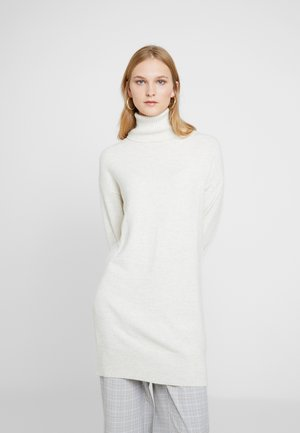 COWL TUNIC - Strickpullover - off white