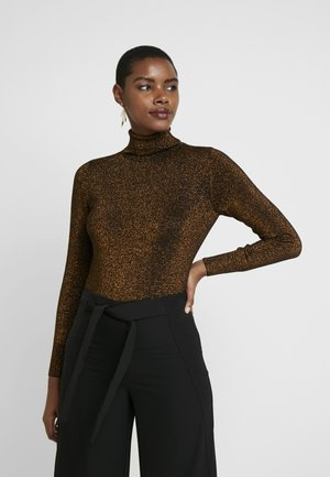 ROLL NECK - Sweter - bronze