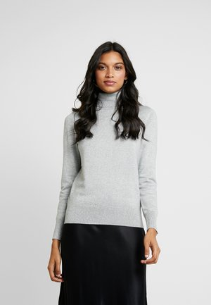 ROLL NECK - Strickpullover - silver