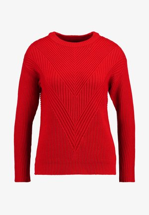 LEAD IN - Maglione - red