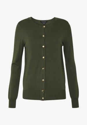 CORE CARDIGAN - Cardigan - khaki