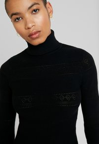 Dorothy Perkins - ALL OVER JUMPER - Pullover - black - 6
