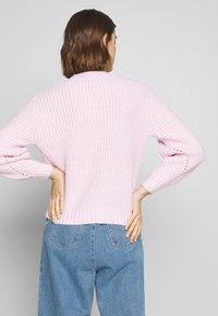 Dorothy Perkins - POINTELLE STITCH - Sweter - lilac - 2