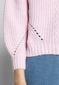Dorothy Perkins - POINTELLE STITCH - Sweter - lilac - 5
