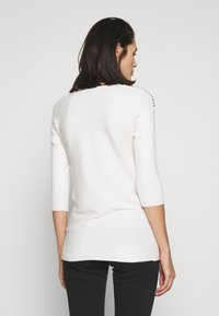 Dorothy Perkins - CHAIN SLEEVE PLAIN - Maglione - ivory - 2