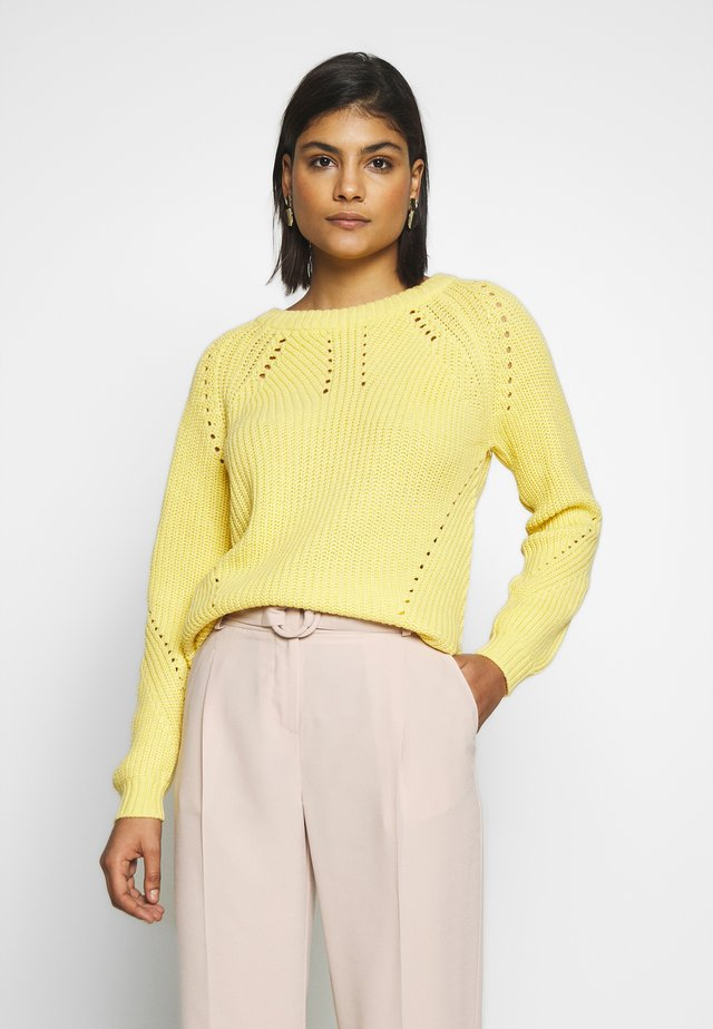 JUMPER - Jersey de punto - sunshine yellow
