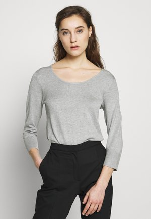 CREW PLAIN JUMPER - Trui - grey marl