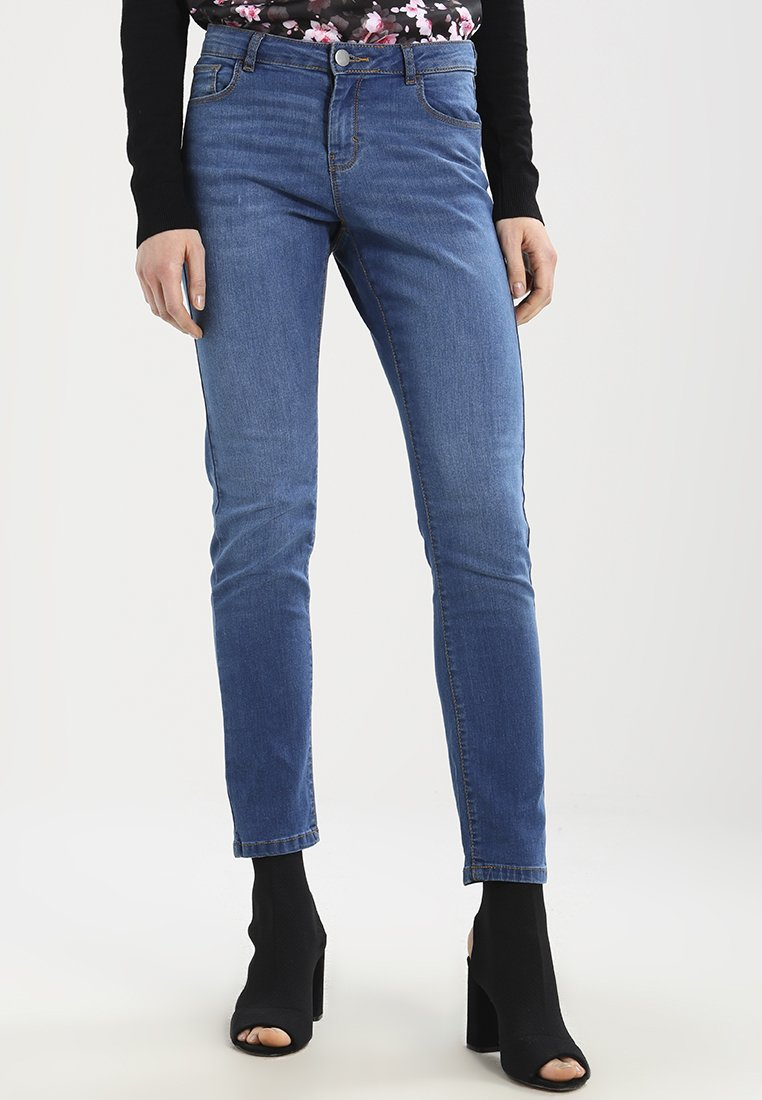 Dorothy Perkins - ASHLEY  - Jeans Straight Leg - washed indigo