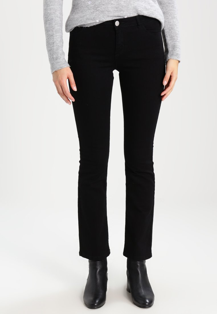 Dorothy Perkins - ASHLEY - Jeans Bootcut - black