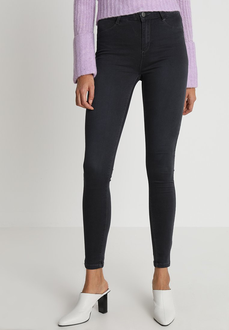 Dorothy Perkins - FRANKIE NEW - Jeans Skinny Fit - charcoal
