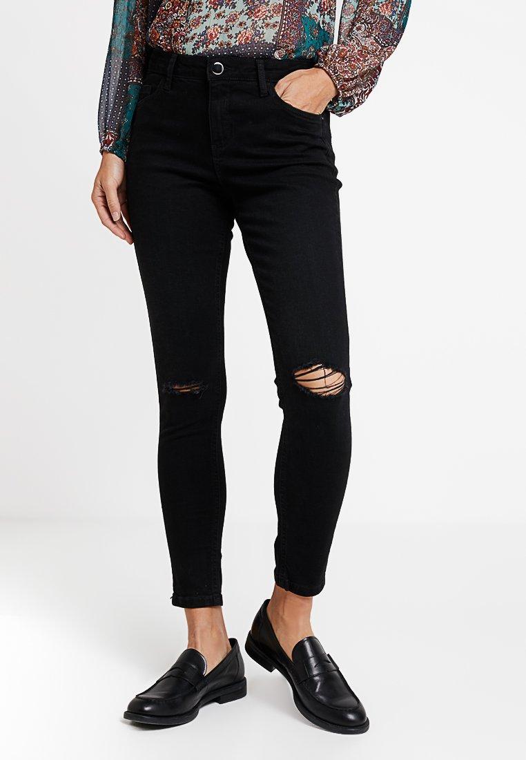 Dorothy Perkins - RIP DARCY - Jeans Skinny Fit - black