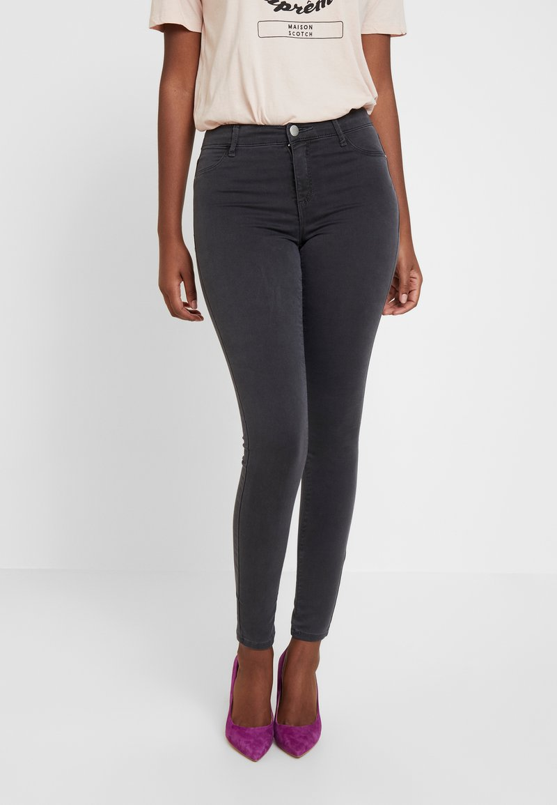 Dorothy Perkins - FRANKIE - Jeans Skinny Fit - charcoal