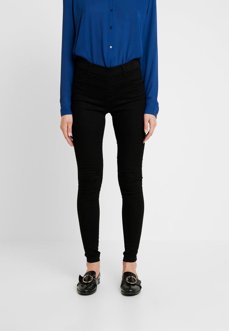 Dorothy Perkins - HIGHWAIST EDEN - Jeans Skinny Fit - black