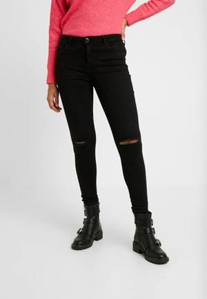 RIPPED DARCY - Jeans Skinny Fit - black