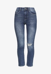 Dorothy Perkins - BOYFRIEND JEAN - Slim fit jeans - dark-blue denim - 3