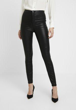GLITTER LYLA - Trousers - black
