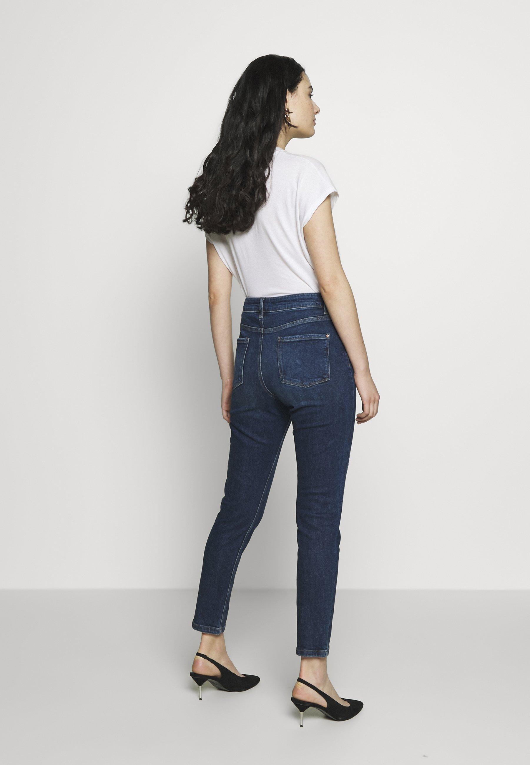 Dorothy Perkins Mom - Jeans Baggy Indigo